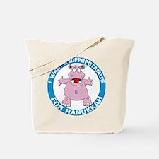 Hippopotamus For Hanukkah Tote Bag