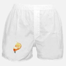 Watercolor Horn Boxer Shorts
