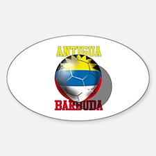 Antigua and Barbuda Oval Decal