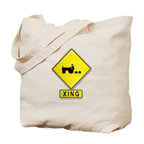 Tractor XING Tote Bag