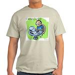 Usenet Junkie #3 Ash Grey T-Shirt