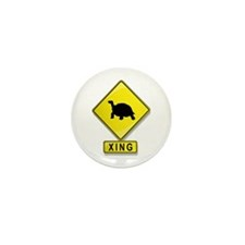 Tortoise XING Mini Button (10 pack)