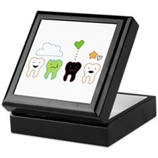 cute teeth Keepsake Box