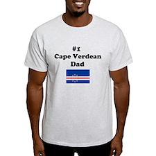 #1 Cape Verdean Dad T-Shirt