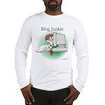 Blog Junkie #1 Long Sleeve T-Shirt