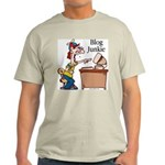 Blog Junkie #2 Ash Grey T-Shirt