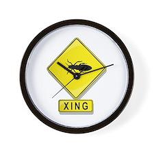 Termite XING Wall Clock