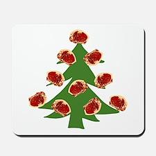 Meat Christmas Tree Mousepad