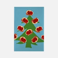 Meat Christmas Tree Rectangle Magnet