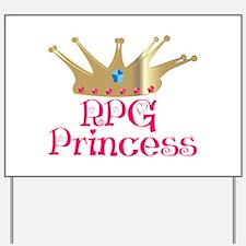 RPG Princess Yard Sign
