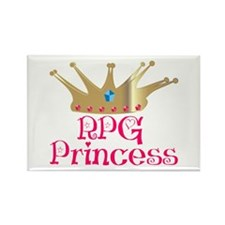 RPG Princess Rectangle Magnet