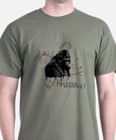 """Greese Munky"" Gorilla Dark Tee"
