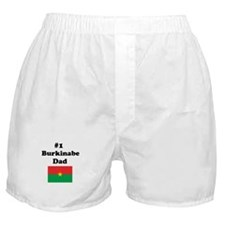 #1 Burkinabe Dad Boxer Shorts