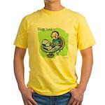 Blog Junkie #3 Yellow T-Shirt