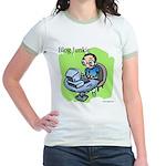 Blog Junkie #3 Jr. Ringer T-Shirt