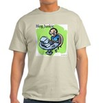 Blog Junkie #3 Ash Grey T-Shirt