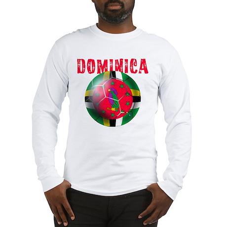Dominican Football Long Sleeve T-Shirt