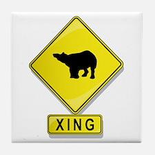 Tapir XING Tile Coaster