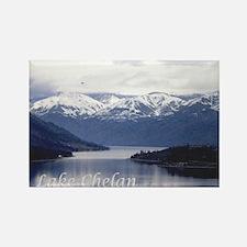 Lake Chelan Rectangle Magnet