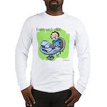 """""""Internet Junkie"""" #3 Long Sleeve T-Shirt"""