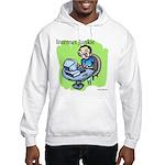 """""""Internet Junkie"""" #3 Hooded Sweatshirt"""