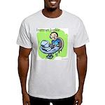 """Internet Junkie"" #3 Ash Grey T-Shirt"