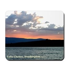 Fire in the Sky Mousepad