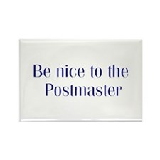 Postmaster Rectangle Magnet (10 pack)
