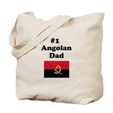 #1 Angolan Dad Tote Bag
