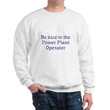 Power Plant Operator Sweatshirt