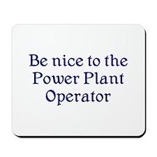 Power Plant Operator Mousepad