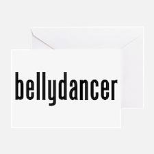 Bellydancer Greeting Card