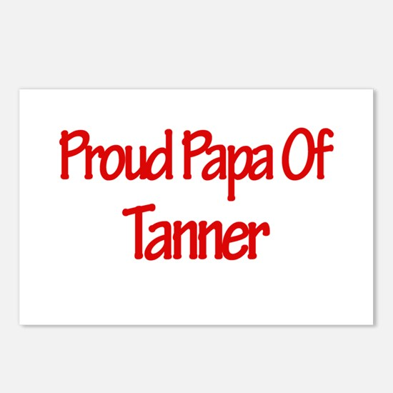 Proud Papa of Tanner Postcards (Package of 8)