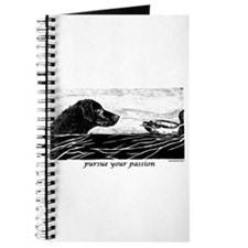 Pursue Your Passion Curly Coated Retriever Journal
