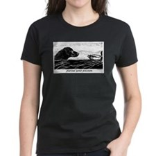 Pursue Your Passion Curly Coated Retriever Tee