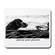 Pursue Your Passion Curly Coated Retriever Mousepa