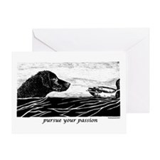 Pursue Your Passion Curly Coated Retriever Greetin