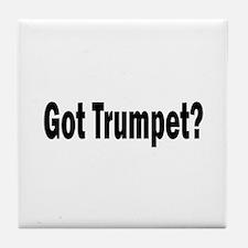 Got Trumpet? Tile Coaster