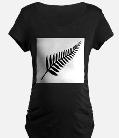 Silver Fern of New Zealand Maternity T-Shirt