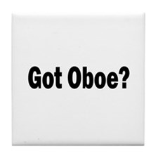 Got Oboe? Tile Coaster