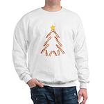 Bacon Christmas Tree Sweatshirt