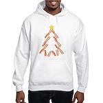 Bacon Christmas Tree Hooded Sweatshirt