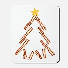 Bacon Christmas Tree Mousepad