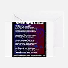 PoetryTag Slam BudSilvernail Greeting Card