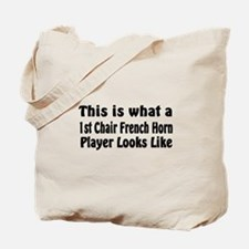 1st Chair French Horn Tote Bag