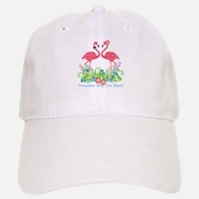 PERSONALIZED Flamingo Couple Baseball Baseball Baseball Cap