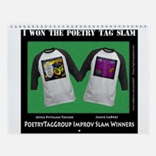 Poetry Tag Wall Calendar