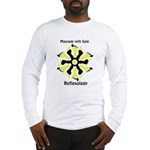 Refleology Yellow & Black Long Sleeve T-Shirt