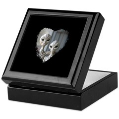 Alien Couple (Heart) - Keepsake Gift Box