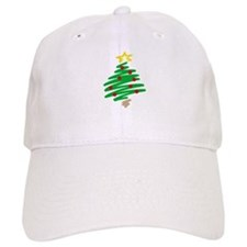 CHRISTMAS TREE (HAND-DRAWN) Baseball Cap